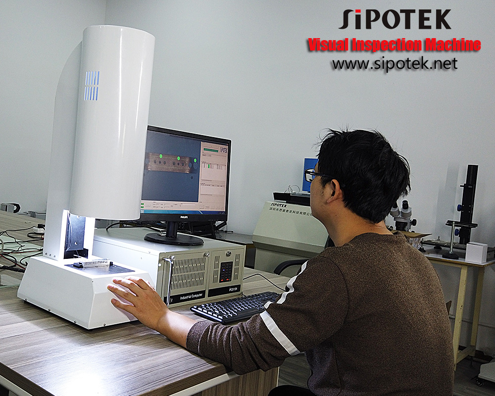Sipotek Visual Inspection Machine 13