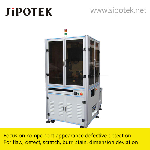 Sipotek and its visual inspection machines from china vision